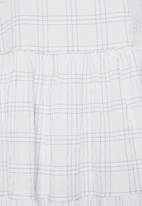 Marc O'Polo DENIM - WIDE SLEEVES DRESS WITH CHECK - Day dress - scandinavian white - 2