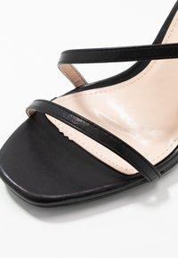 BEBO - HAMPTON - Sandaler med høye hæler - black - 2