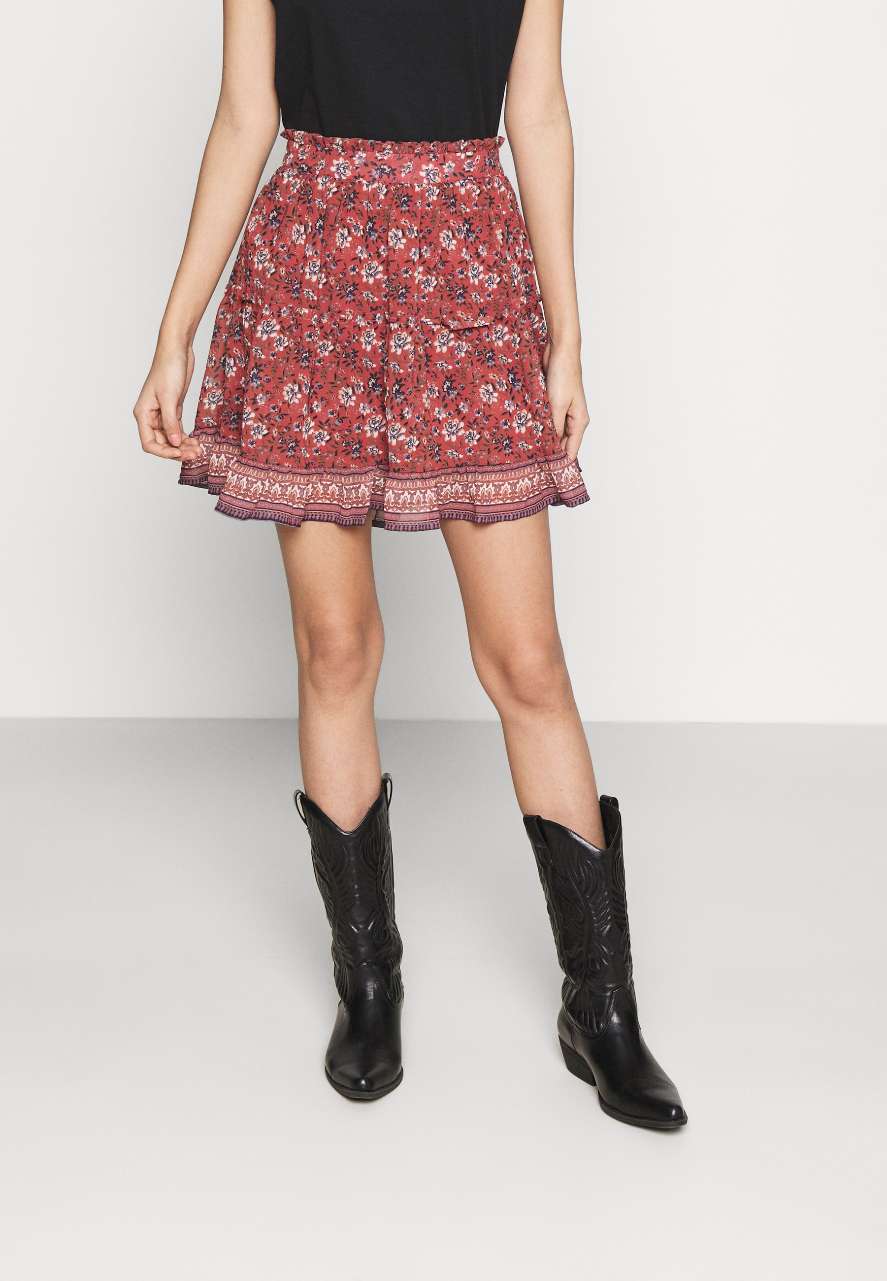 Women VMBELLA FRILL SKIRT  - Mini skirt