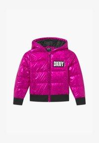 DKNY - PUFFER - Zimní bunda - fuschia - 0