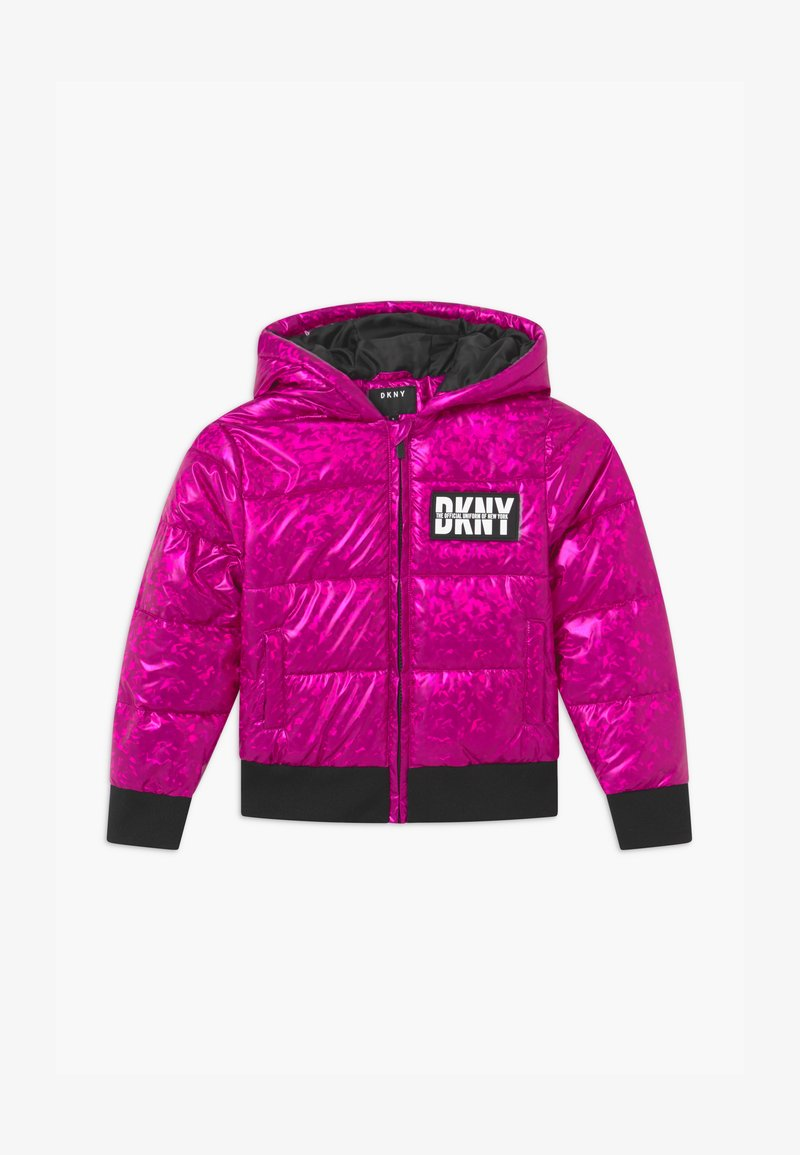 DKNY - PUFFER - Zimní bunda - fuschia