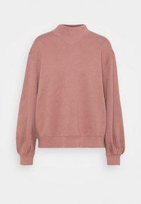Abercrombie & Fitch - MOCK CREW - Sweatshirt - pink - 4