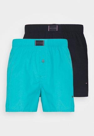2 PACK - Boxer shorts - aquaticteal/desertsky