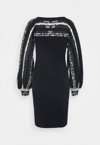 Marc Cain - Pletené šaty - dark blue - 9
