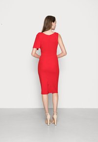 WAL G. - SIMI SLINKI MIDI DRESS - Cocktail dress / Party dress - red - 2