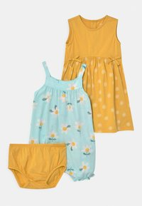 Carter's - FLORAL SET - Overal - mint/yellow - 0