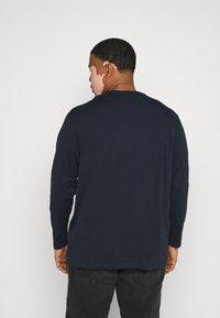 TOM TAILOR MEN PLUS - Long sleeved top - dark blue - 2