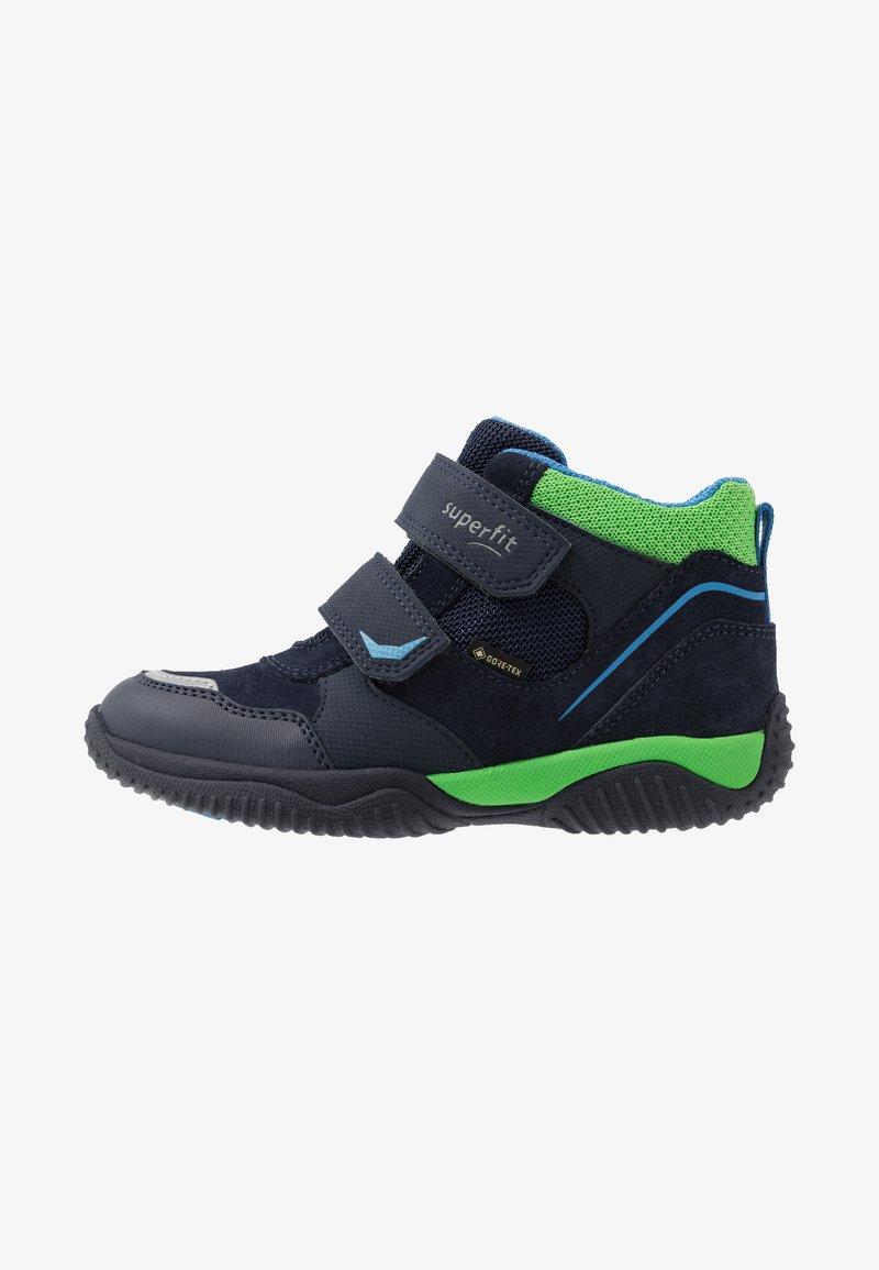 Superfit - STORM - Classic ankle boots - blau/grün