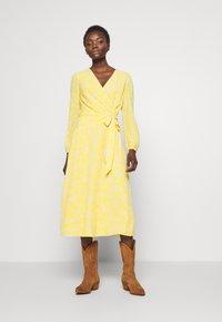 Lauren Ralph Lauren - PRINTED DRESS - Denní šaty - true marigold - 0