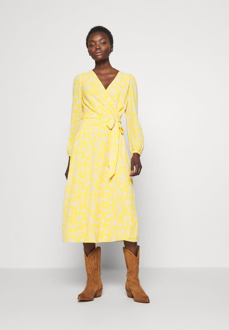 Lauren Ralph Lauren - PRINTED DRESS - Denní šaty - true marigold