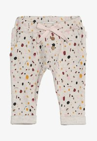 Noppies - PANTS REGULAR CAIRO BABY - Kalhoty - whisper white melange - 3