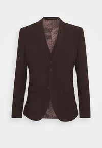 Isaac Dewhirst - THE FASHION SUIT 3 PIECE - Kostym - bordeaux - 22