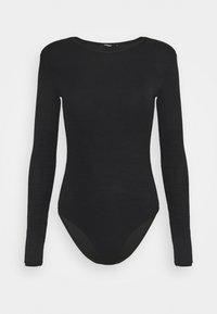 ONLTHEA SHOULDER BODY - Long sleeved top - black