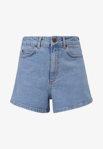 Denim shorts - lt blue denim