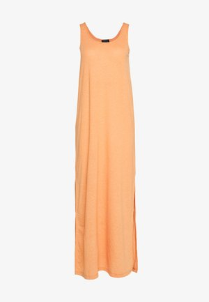 SLFIVY DRESS - Maxi dress - caramel