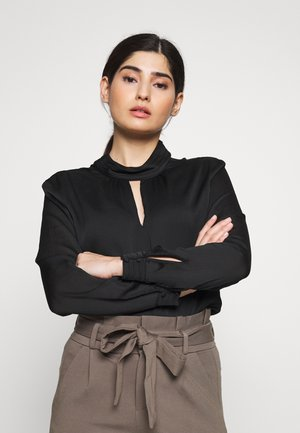STRUCTURED - Blouse - black