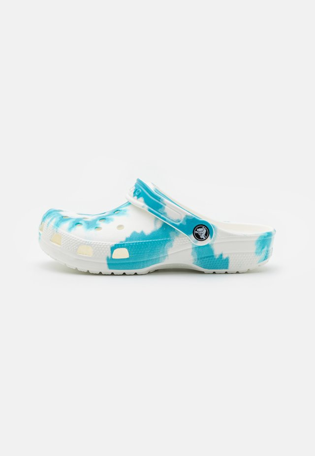 CLASSIC TIE DYE GRAPHIC UNISEX - Clogs - digital aqua