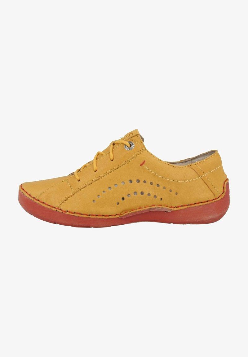 Josef Seibel - FERGEY  - Chaussures à lacets - saffron