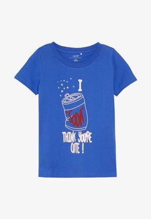 NLFLAVONNE BOX - Print T-shirt - dazzling blue