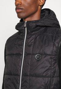 Armani Exchange - CABAN COAT - Winterjas - pure cashmere/black - 8