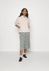 ONLY - ONLKENDALL SKIRT - A-line skirt - pumice stone/blue - 1