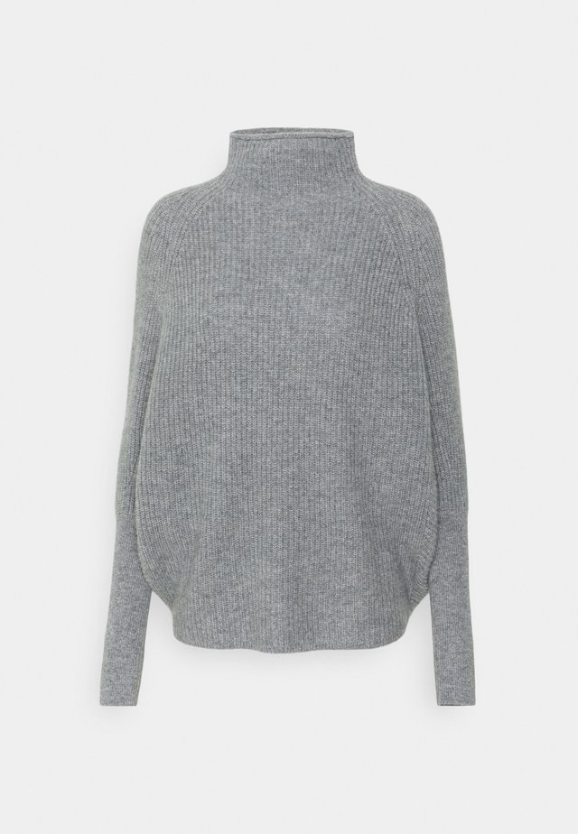 EMMA  - Stickad tröja - limestone