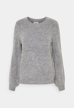 OBJEVE NONSIA - Strikkegenser - light grey melange