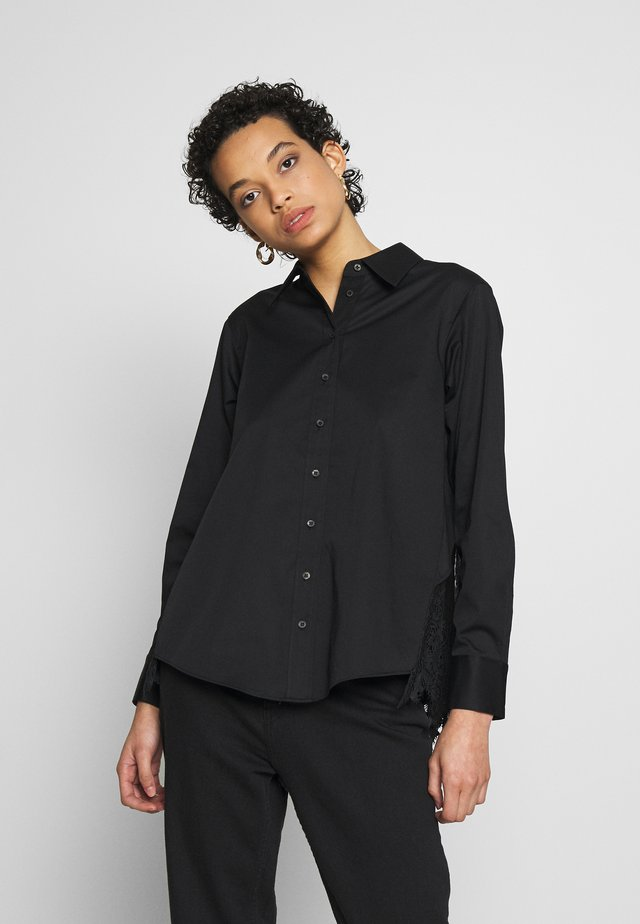 IRIS LACE SHIRT - Bluser - black