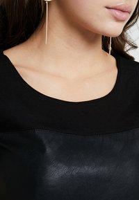 ONLY - ONLNEW MARGOT MIX DRES - Vestido ligero - black - 5