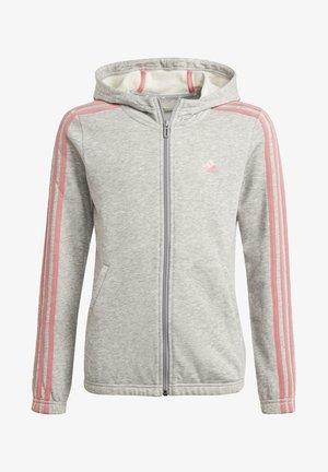Hoodie - grey, pink