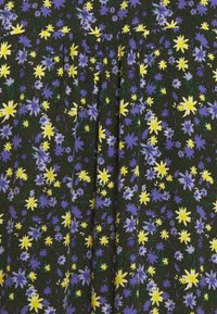 Marc O'Polo DENIM - RUFFLE AT WAIST 3/4 SLEEVE - Maxi dress - multi/burnished logs - 2