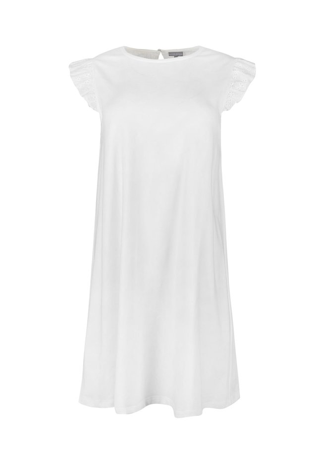 BRODERIE  - Jersey dress - white