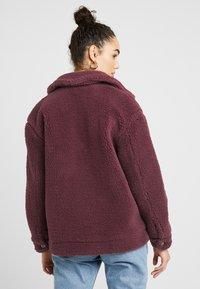 Topshop - READING - Winter jacket - burgundy - 2