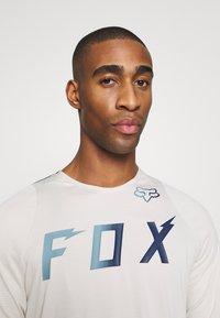 Fox Racing - DEFEND WURD - T-Shirt print - navy - 3