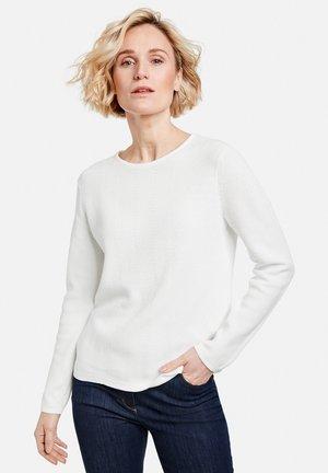 LANGARM RUNDHALS - Pullover - off-white