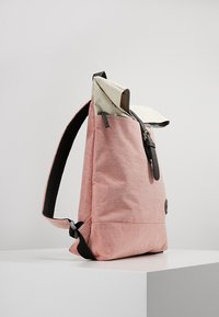Enter - Rucksack - melange red/natural - 3