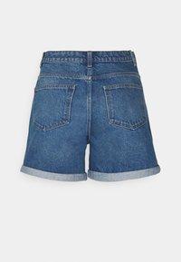 Noisy May Tall - NMSMILEY  - Shorts di jeans - medium blue denim - 1