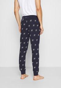 Jack & Jones - JACJASON PANTS - Pyžamový spodní díl - maritime blue - 2