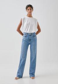 PULL&BEAR - Jeansy Straight Leg - blue - 1