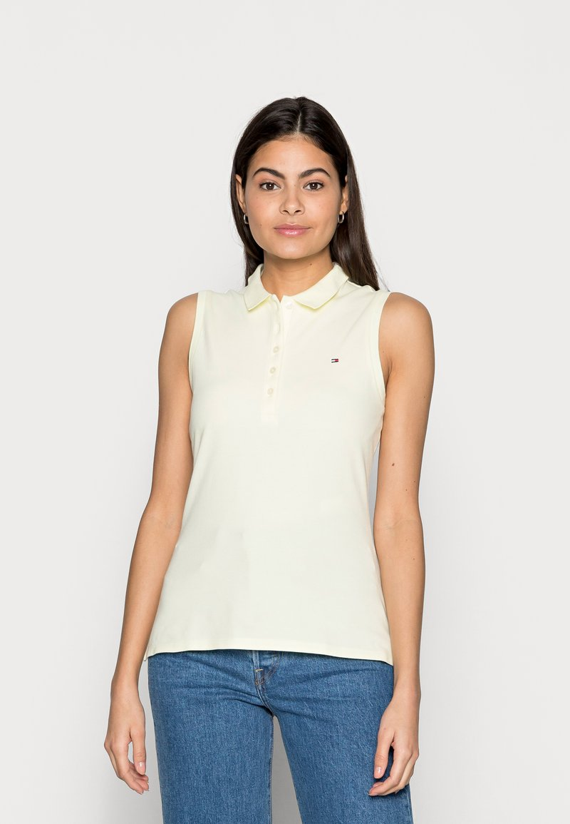 Tommy Hilfiger - SLIM NO SLEEVE - Top - yellow
