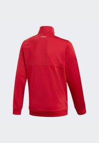 adidas Performance - TIRO TRACKSUIT - Tracksuit - red - 5