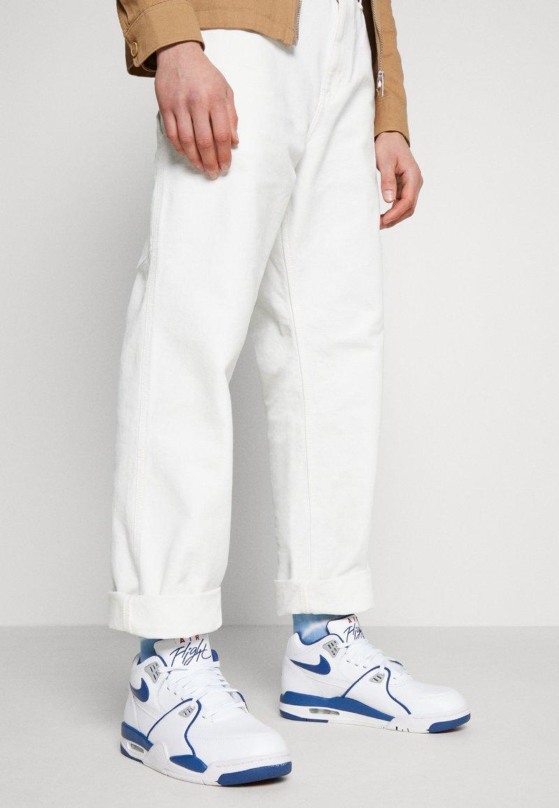 Nike Sportswear - AIR FLIGHT 89 - Vysoké tenisky - white/dark royal blue/varsity red