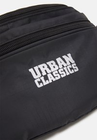 Urban Classics - DOUBLE ZIP SHOULDER BAG - Ledvinka - black - 3
