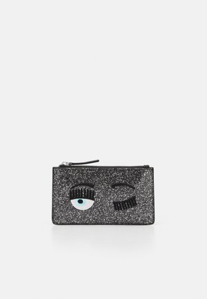 FLIRTING GLITTER POCHETTE - Clutch - black