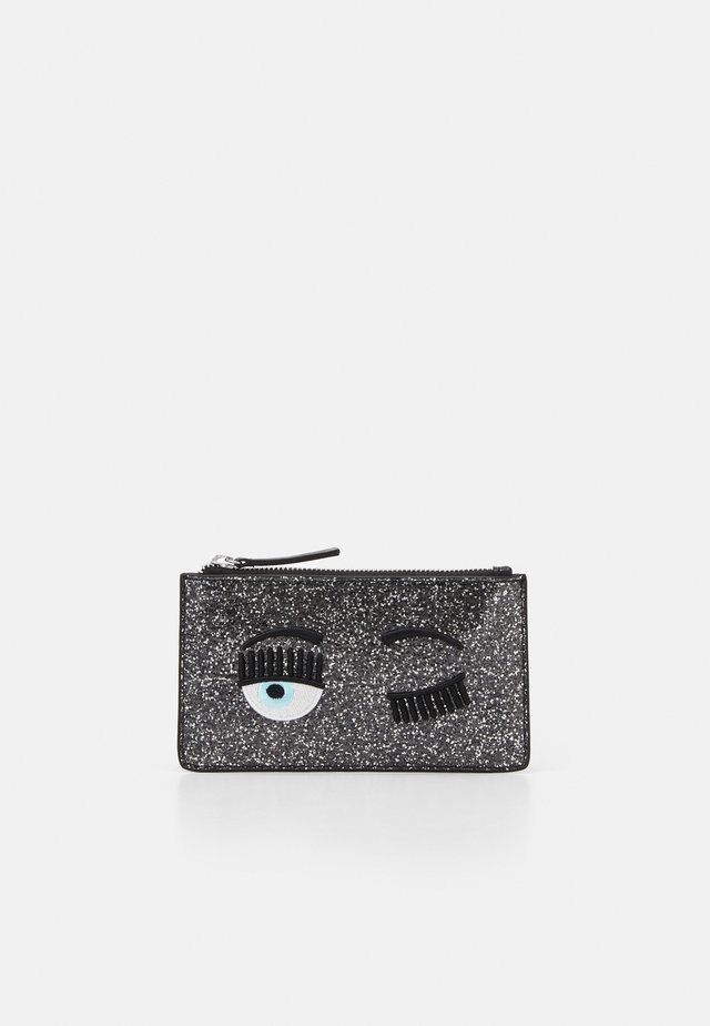 FLIRTING GLITTER POCHETTE - Clutches - black
