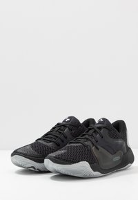 Under Armour - SPAWN 2 - Chaussures de basket - black/pitch gray - 2