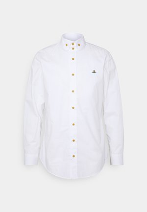 BUTTON KRALL SHIRT UNISEX - Košile - white