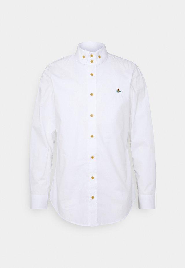 BUTTON KRALL SHIRT UNISEX - Chemise - white