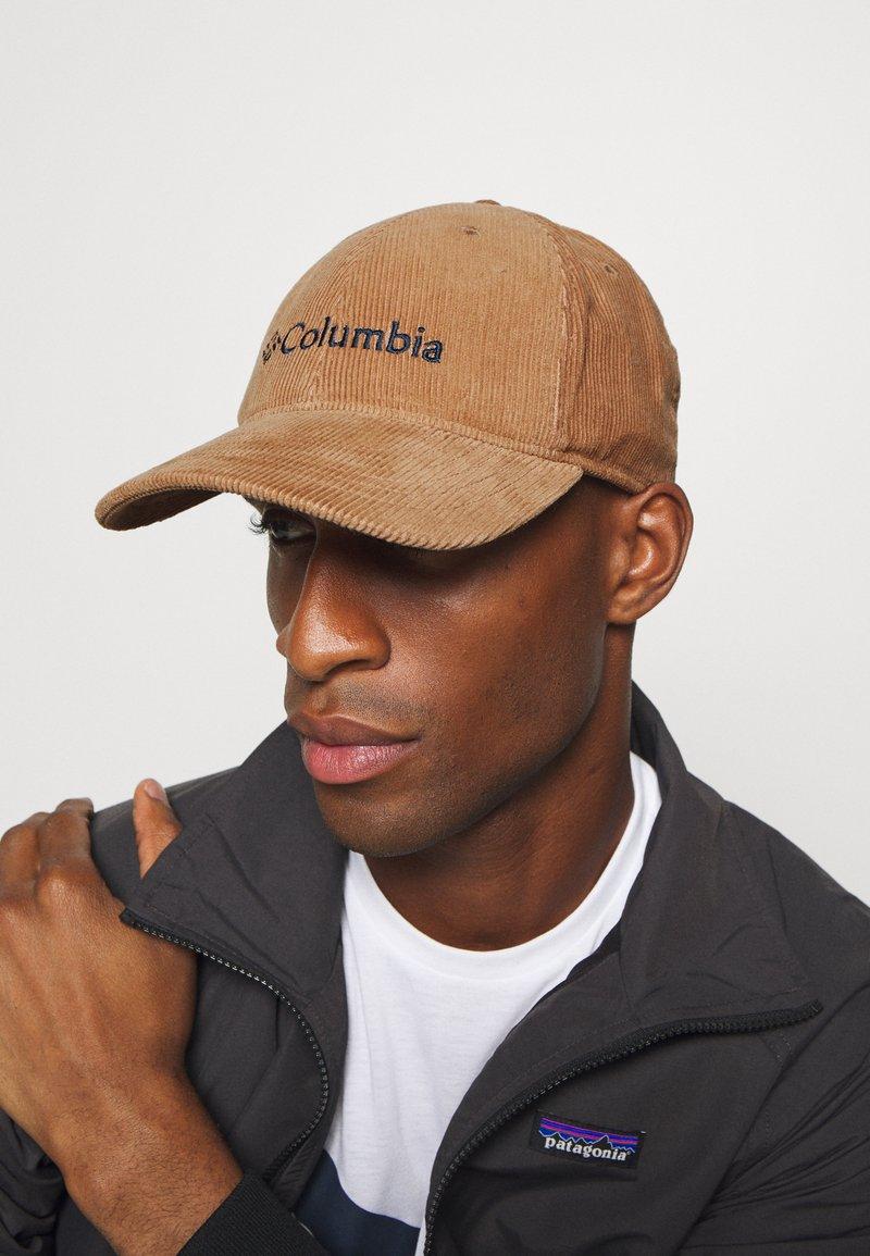 Columbia - LODGE ADJUSTABLE BACK BALL UNISEX - Cap - brown