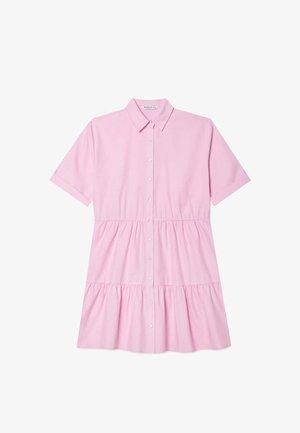 Shirt dress - light pink